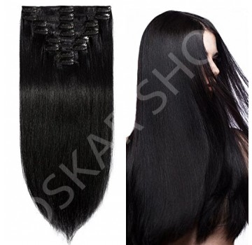 Clip On Deluxe Ondulat Black Collection #1