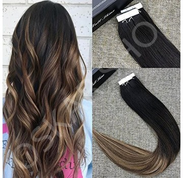 Tape IN Black Collection Ombre #1B #7