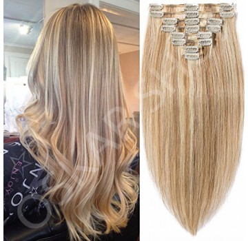 Extensii Clip-On Deluxe Balayage #12 #60