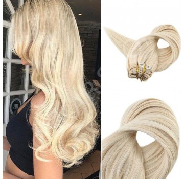 Extensii Clip-On Deluxe Balayage #24 #60