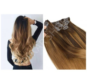 Extensii Clip-On Deluxe Balayage #3 #24